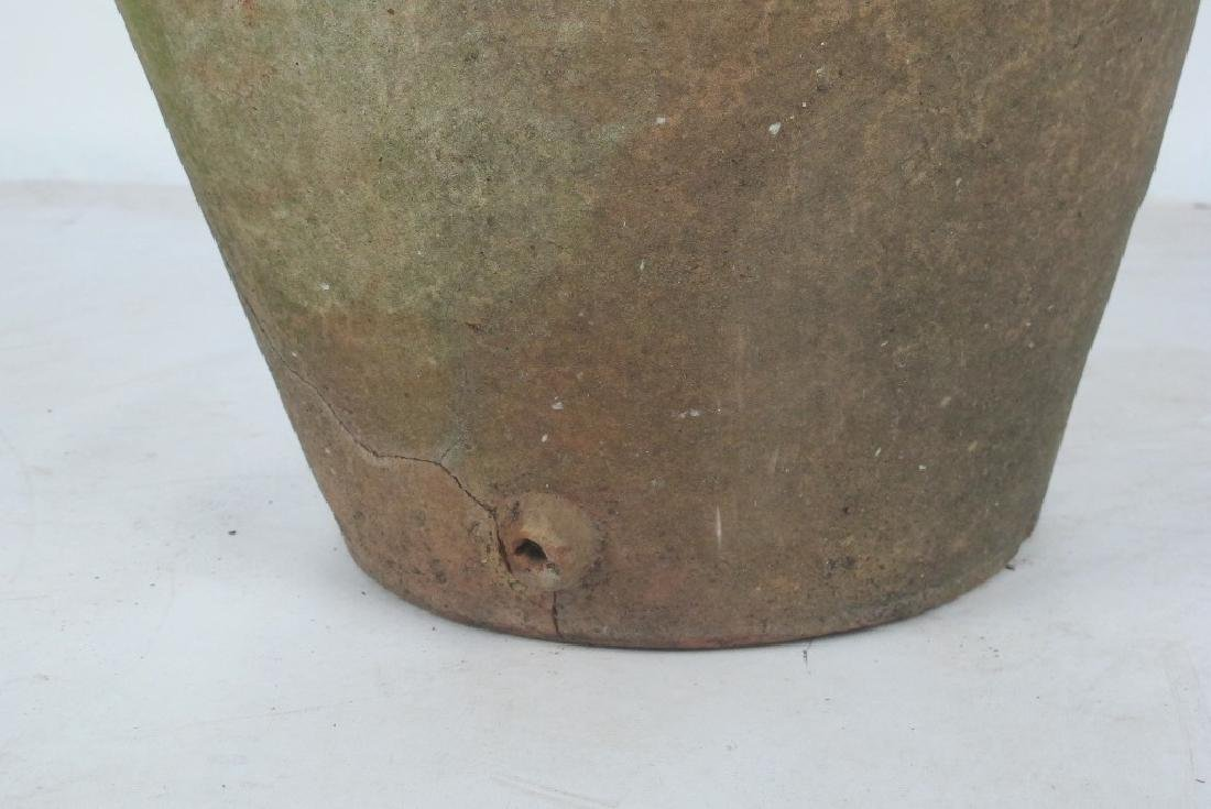 19th C. Terra Cotta Olive Jar - 4