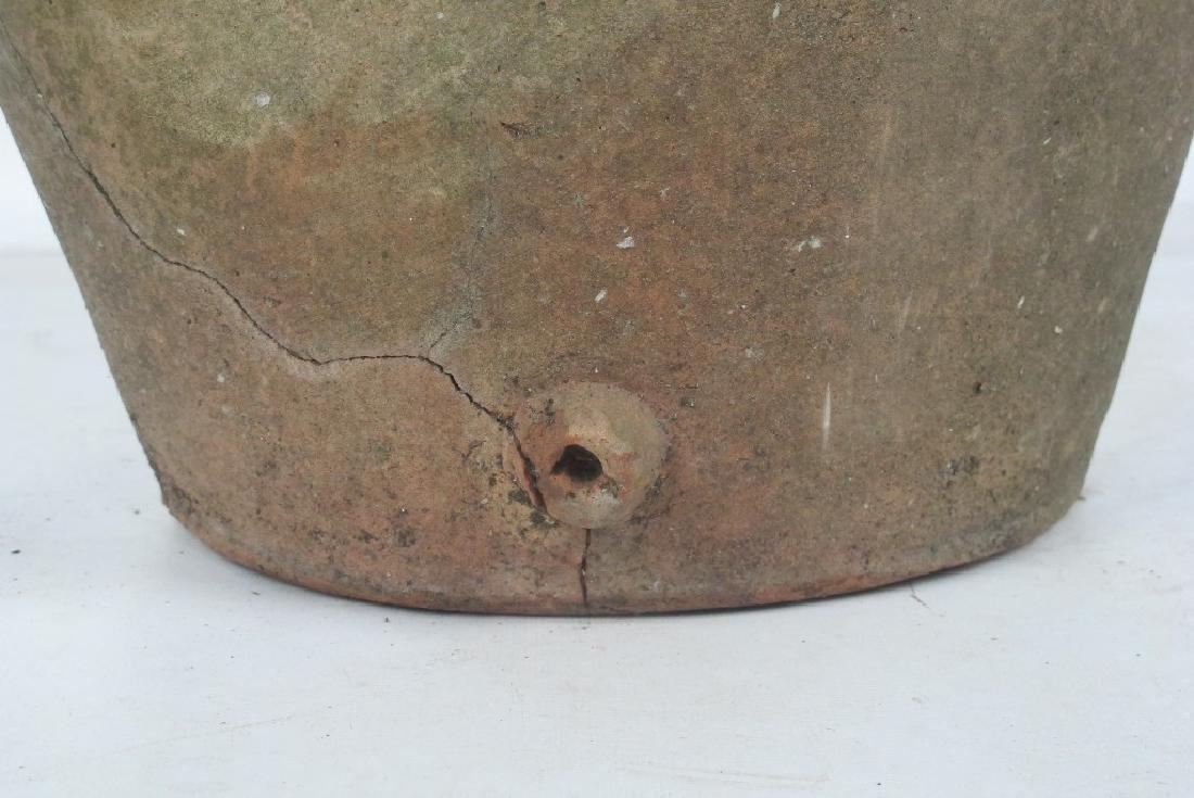 19th C. Terra Cotta Olive Jar - 6