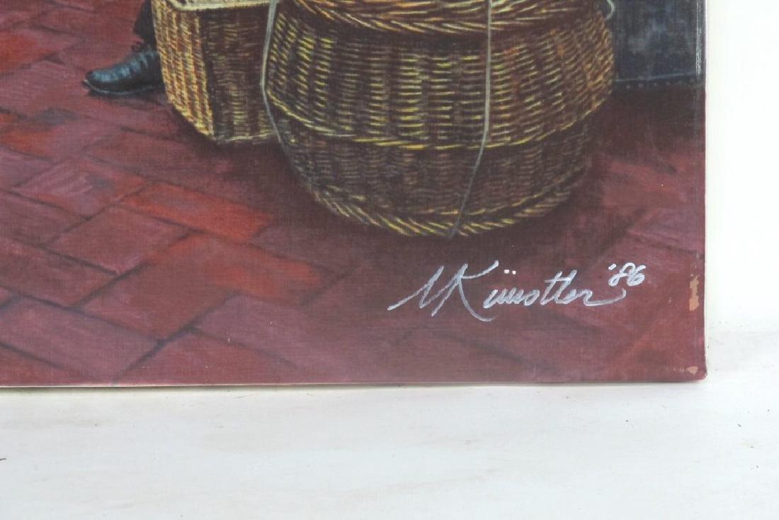 Mort Kunstler Signed Ellis Island Serigraph - 4