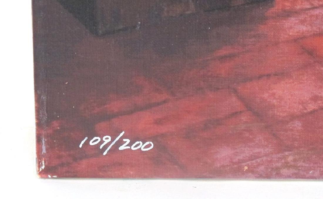 Mort Kunstler Signed Ellis Island Serigraph - 5