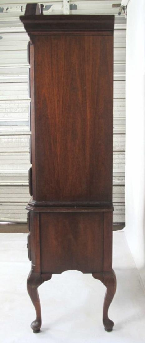 Mahogany Highboy - 7