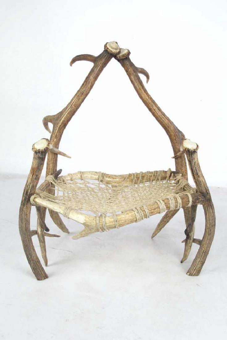 Elk Antler Chair