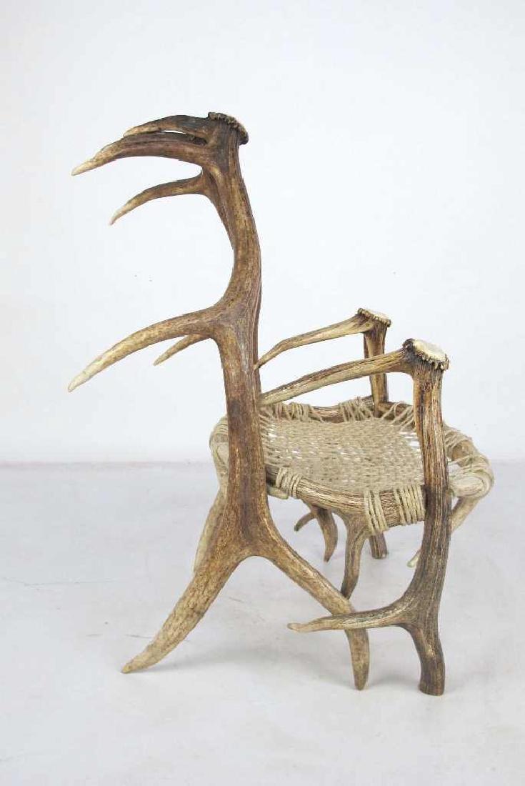 Elk Antler Chair - 3