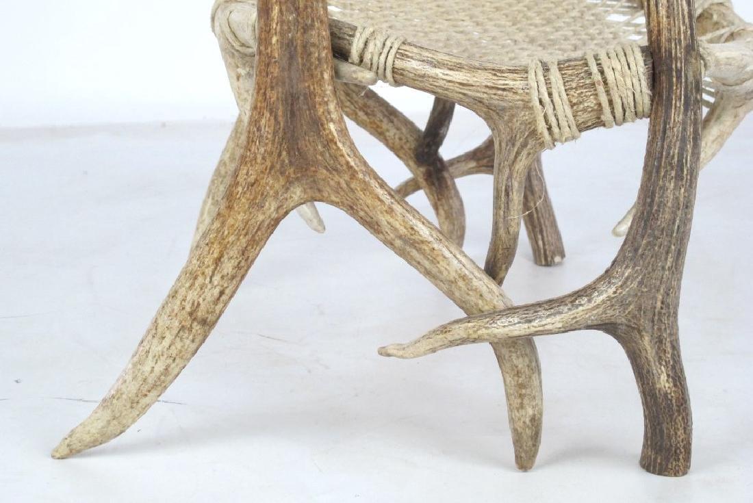 Elk Antler Chair - 4