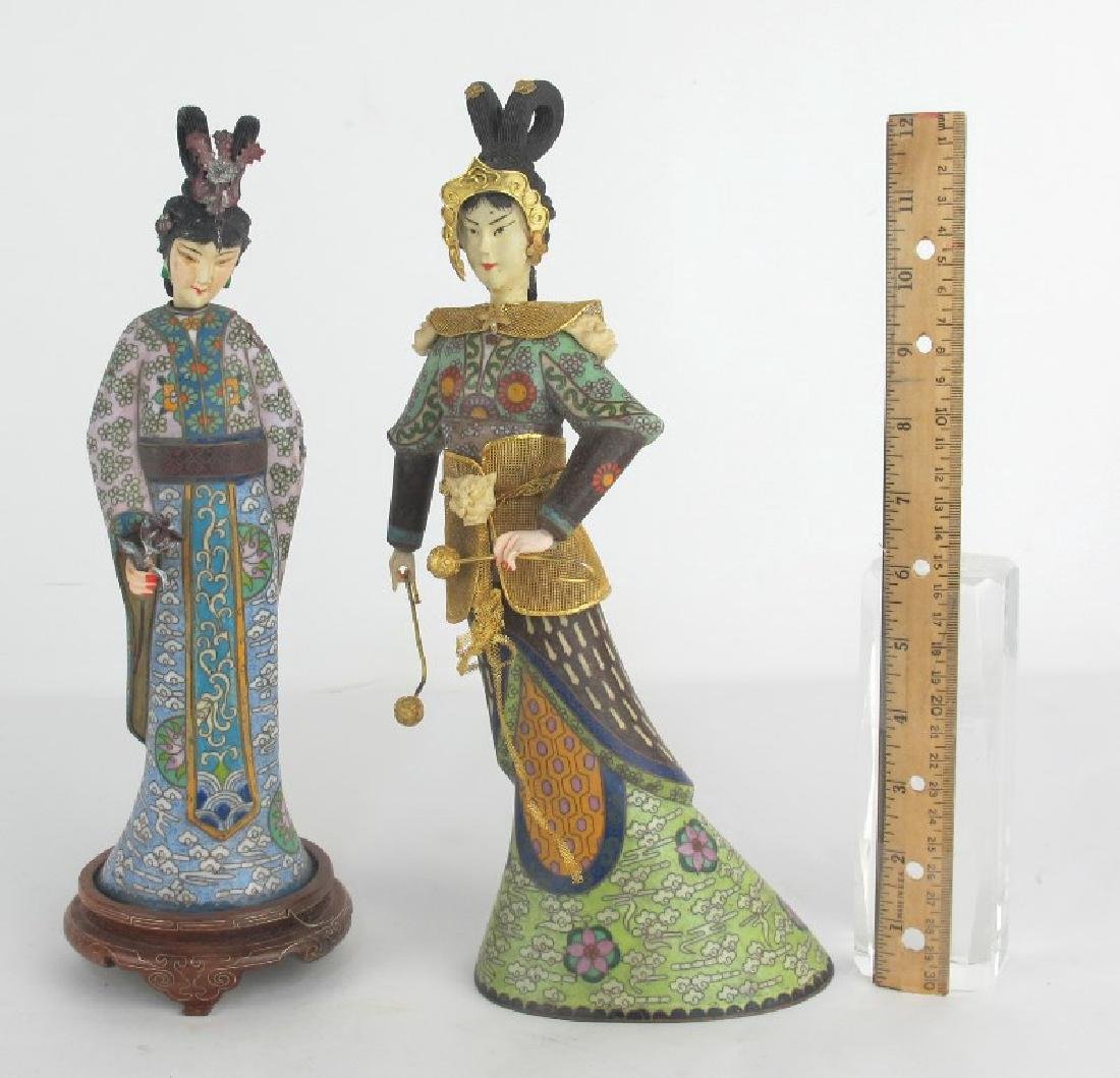 Two Chinese Figures - 2