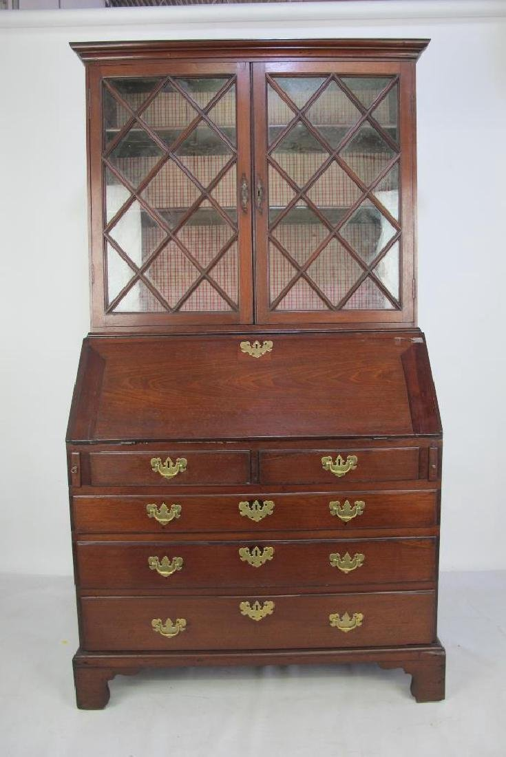 Secretary Desk with Cabinet