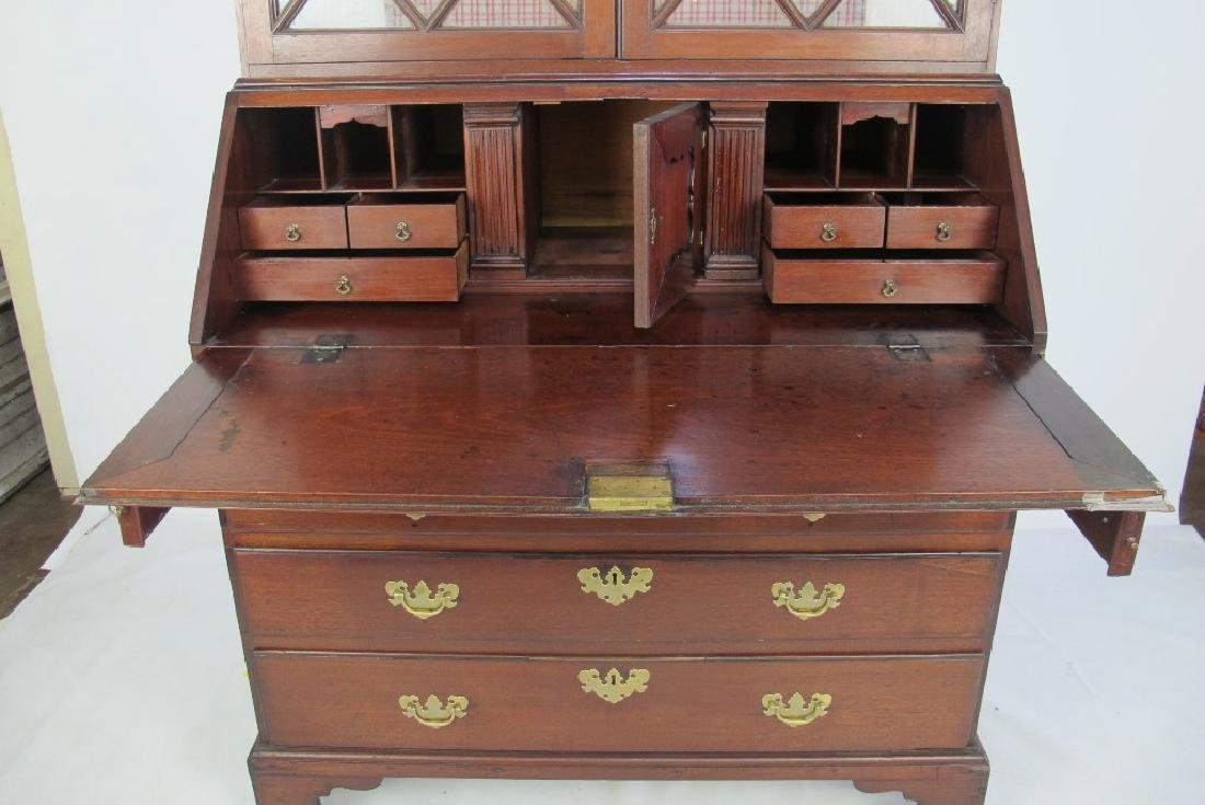 Secretary Desk with Cabinet - 6