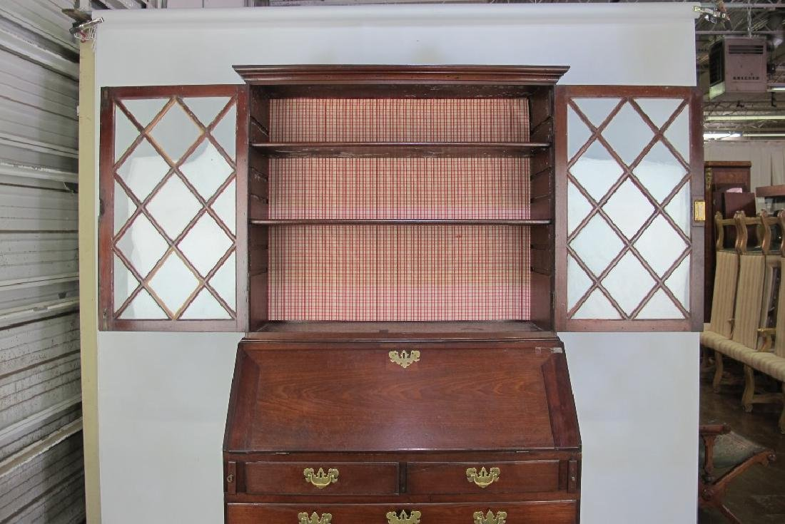 Secretary Desk with Cabinet - 9