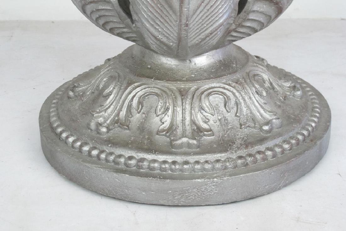 Marble Top Silver Stand - 5
