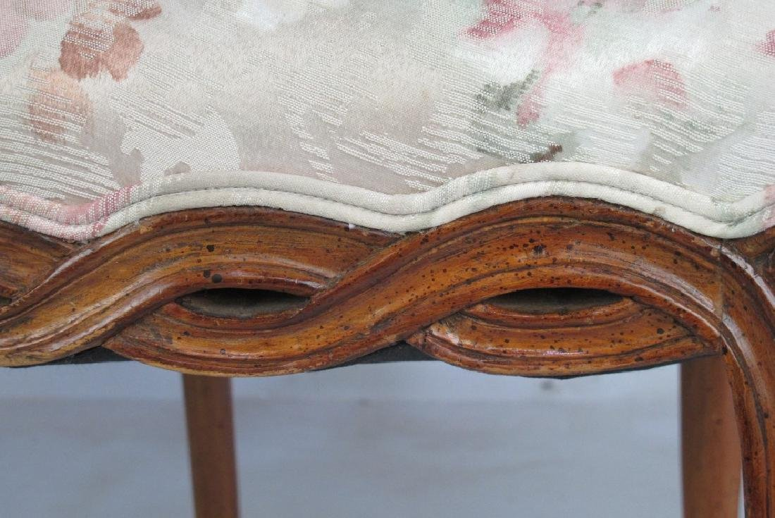 Pair of Italian Open Arm Chairs - 5