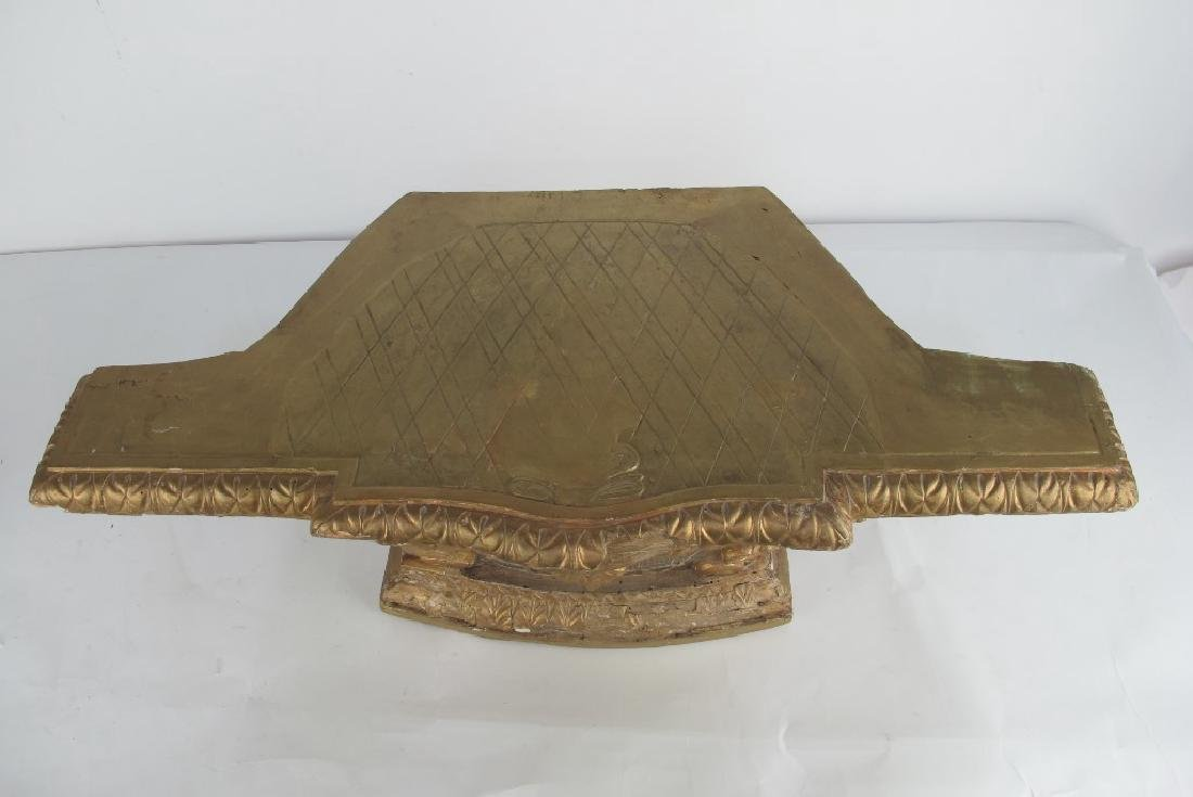 18th C. Carved and Gilt Wood Altar - 2