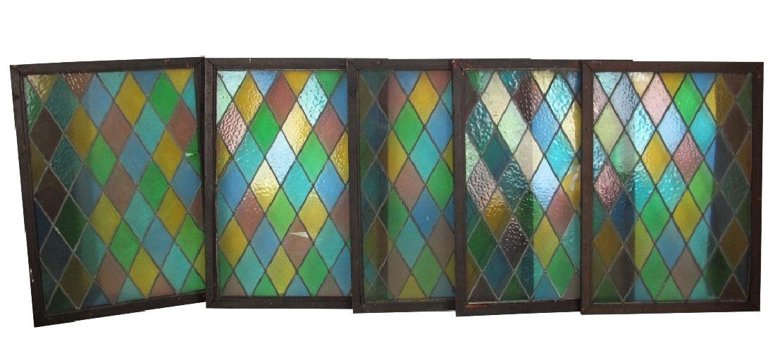 Five Stained Glass Windows