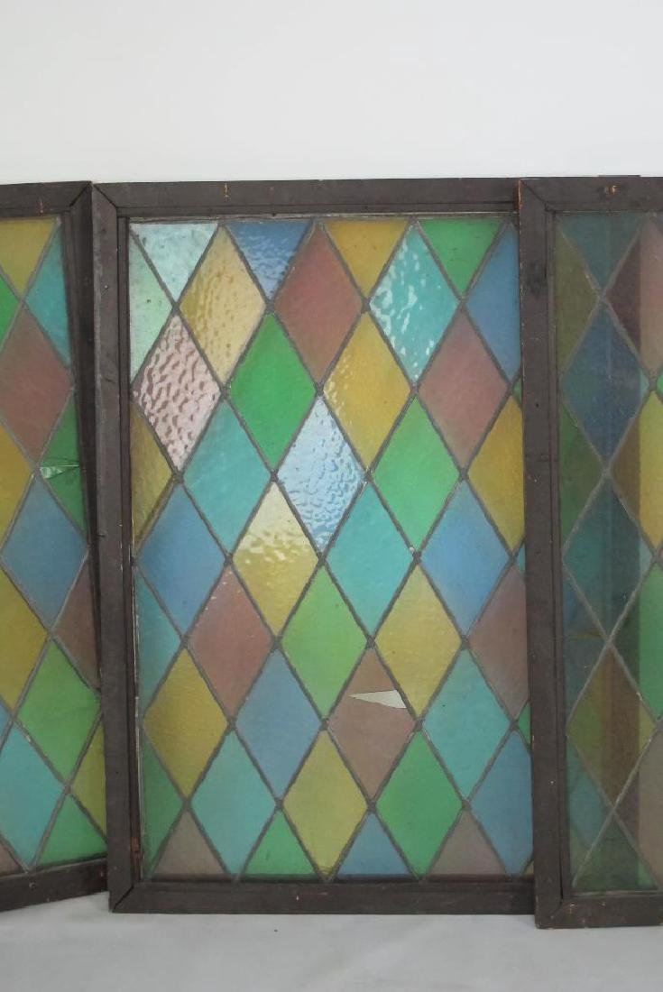 Five Stained Glass Windows - 2