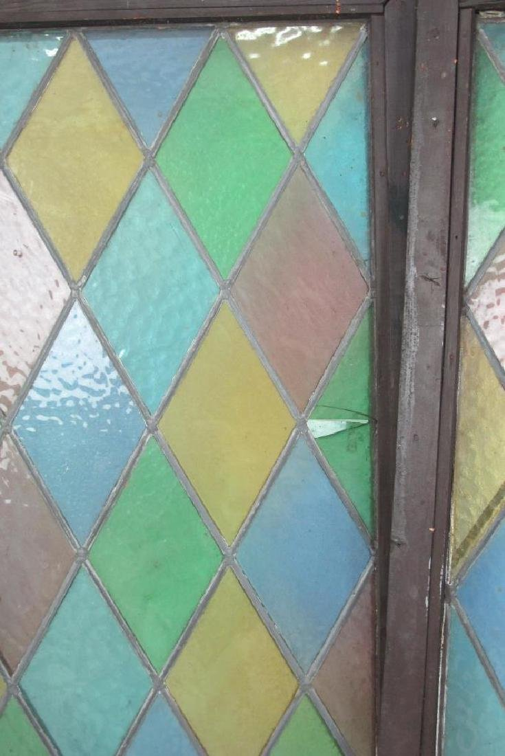 Five Stained Glass Windows - 5