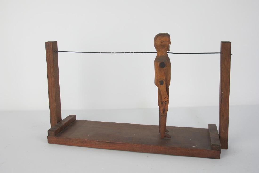 19th C. Folk Art of Dancing Man - 4