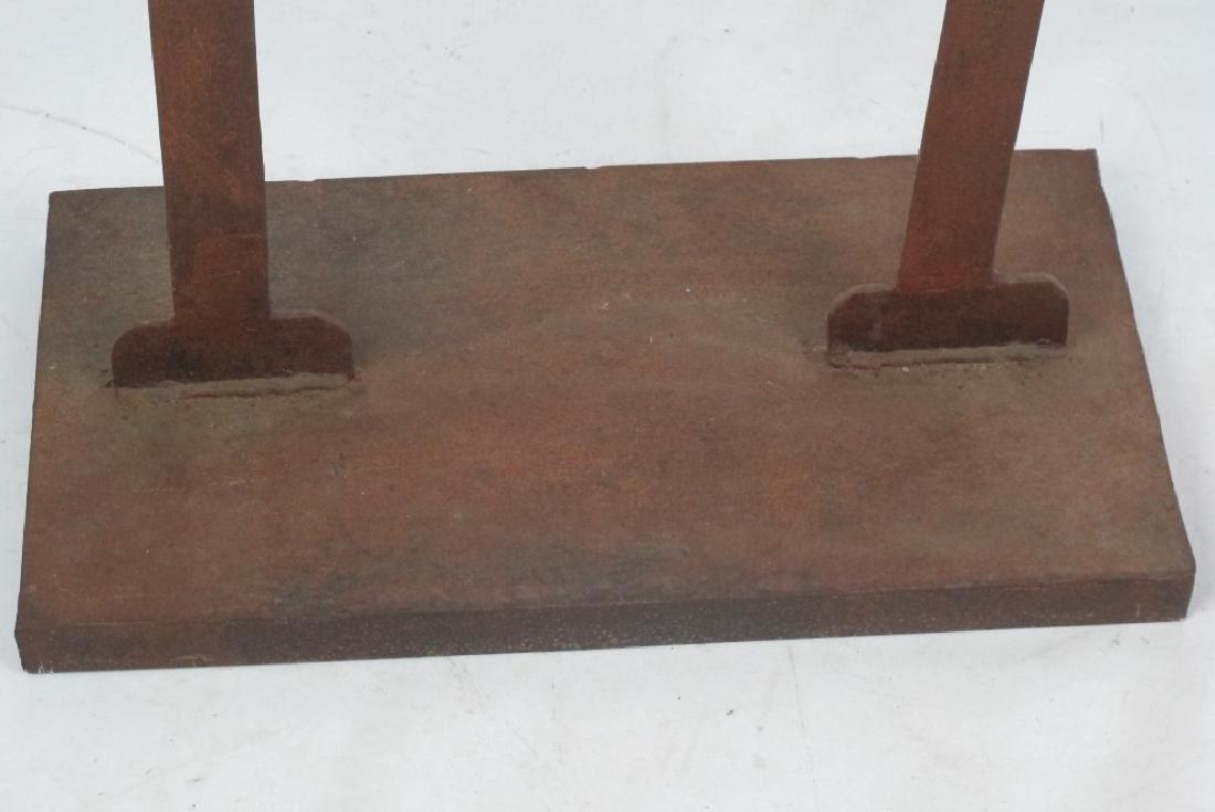 Two Iron Art Figures - 4