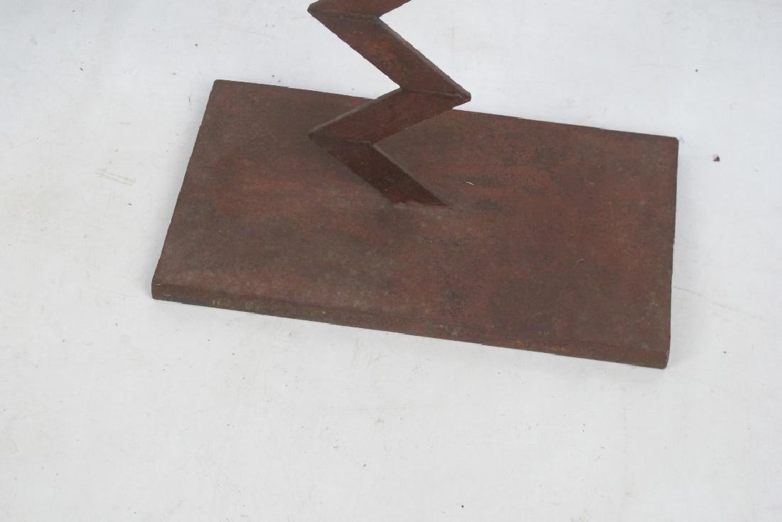 Two Iron Art Figures - 5