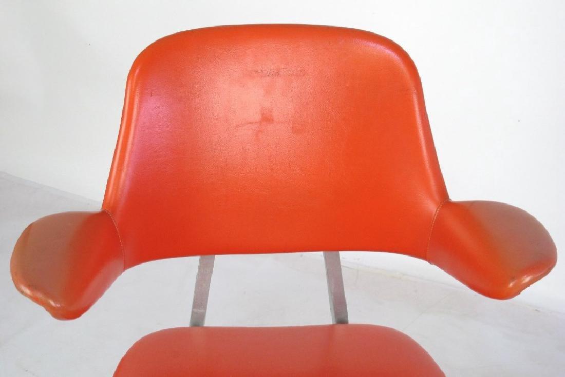 Shaw Walker Vinyl Mid Century Chair - 2