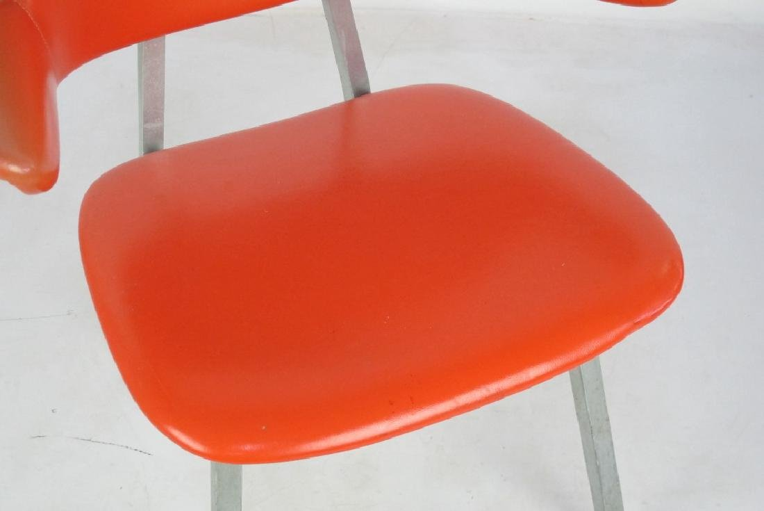 Shaw Walker Vinyl Mid Century Chair - 3