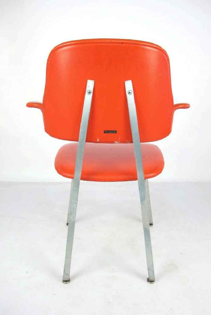 Shaw Walker Vinyl Mid Century Chair - 7