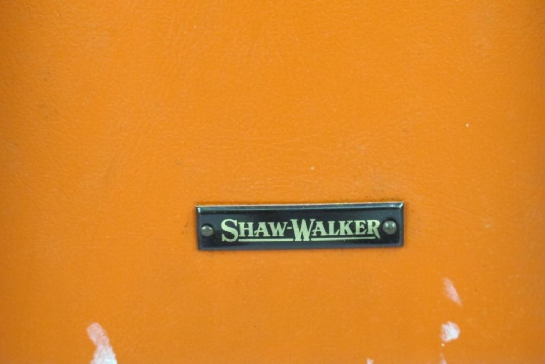 Shaw Walker Vinyl Mid Century Chair - 8
