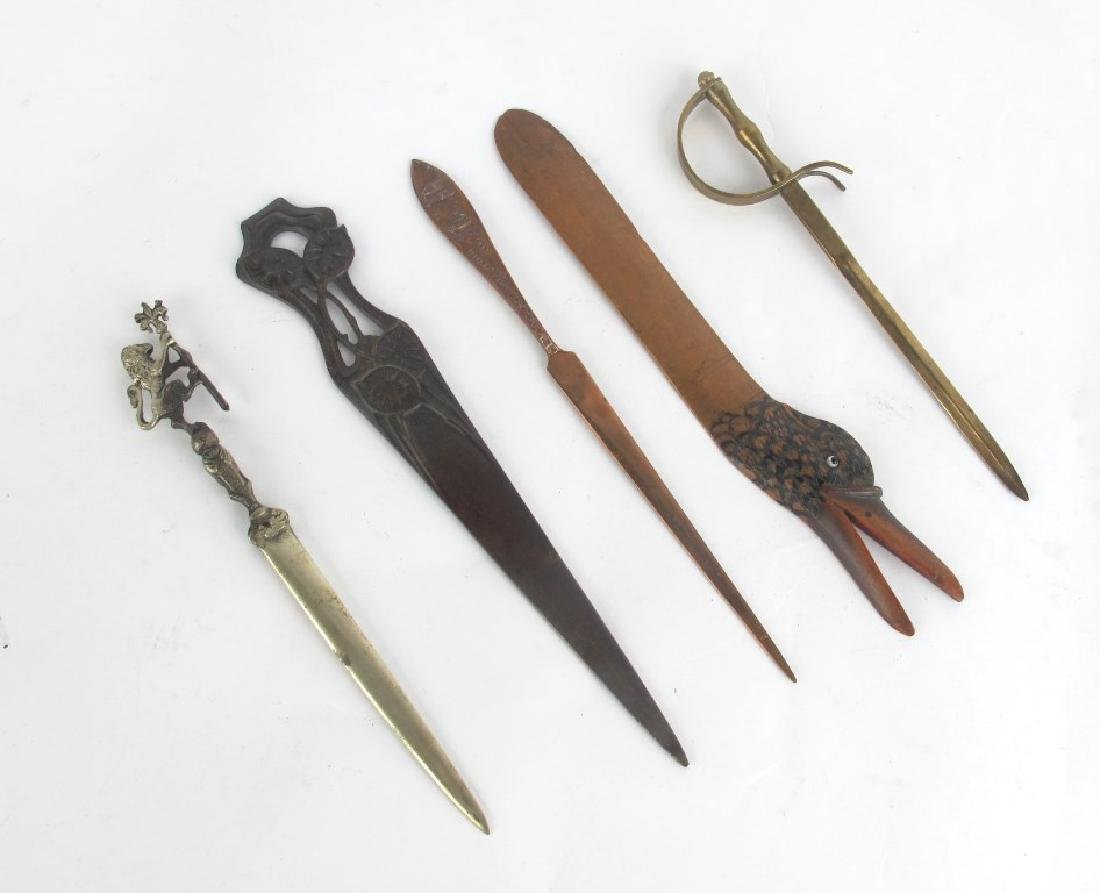 Tiffany Studios Letter Opener and More