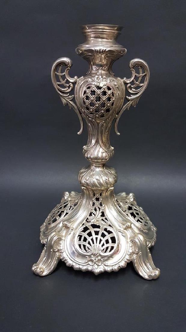 Continental Silver Goblet, Frame & Epergne Base - 7