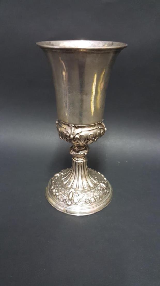 Continental Silver Goblet, Frame & Epergne Base - 9