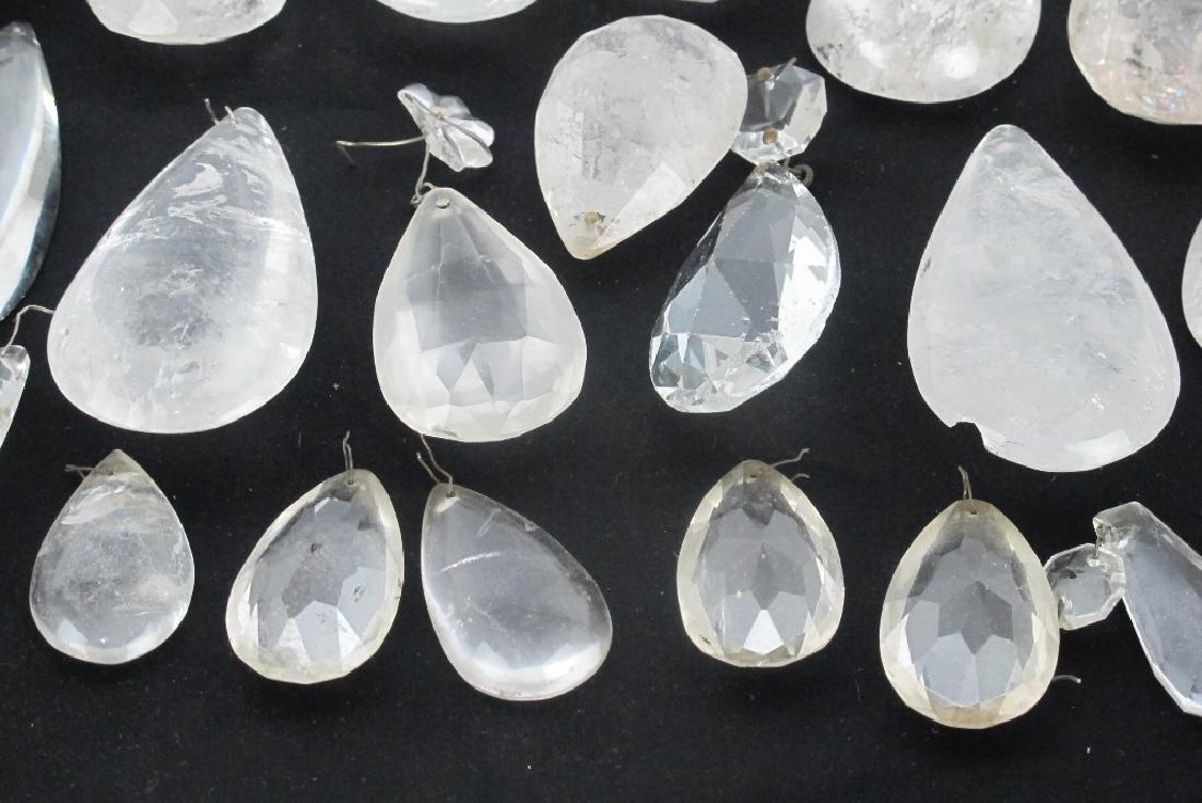 Lot of Rock Crystal Prisms - 2