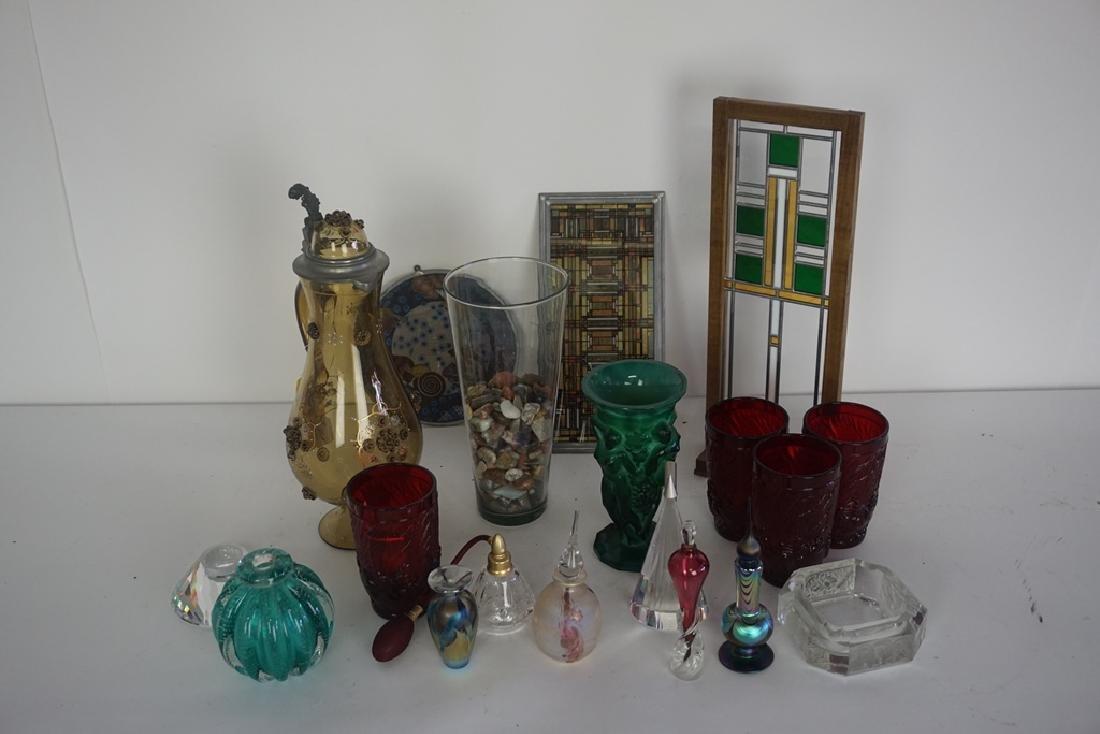 Lot of Misc. Art Glass