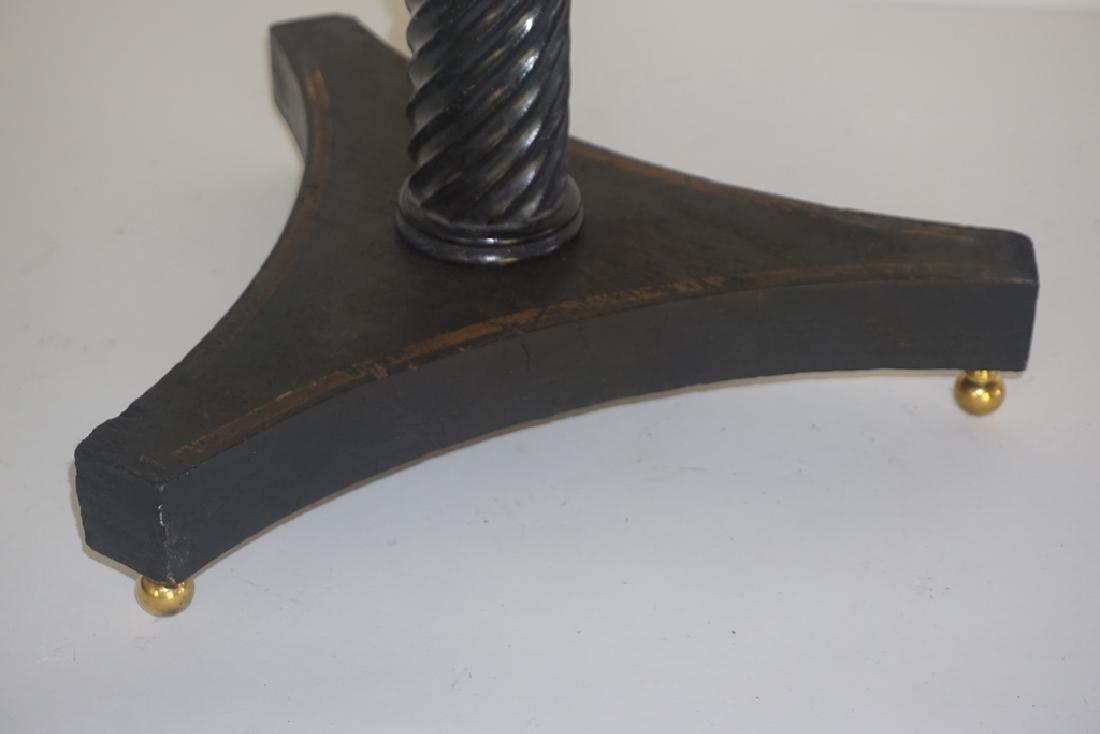 19th C. French Paper Mache Tilt Table - 5