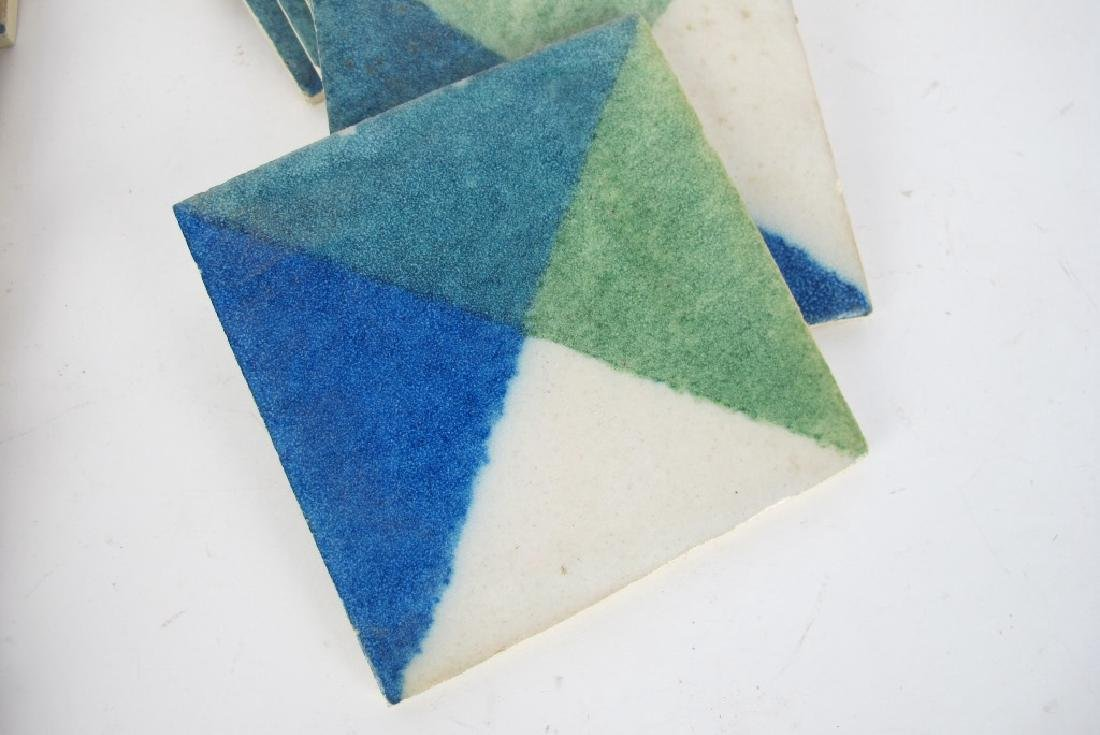 Lot of Signed Deco Tiles - 4