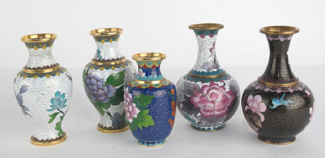 5 Chinese Vases