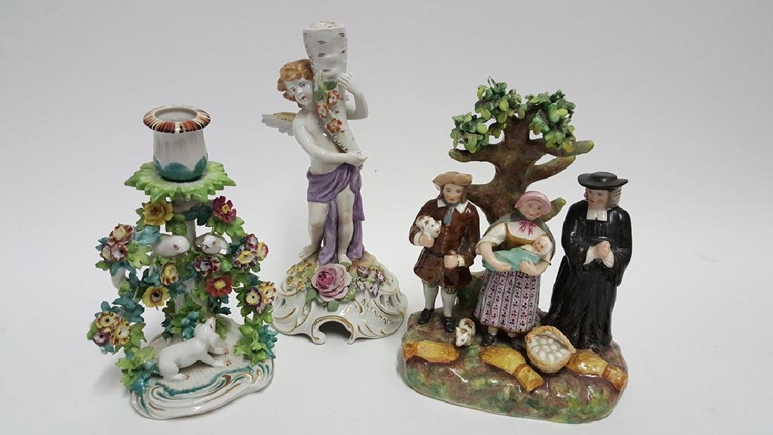 Collection of Porcelain Figurines