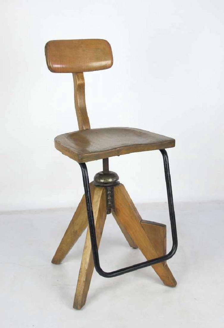 Oak Architect's Chair