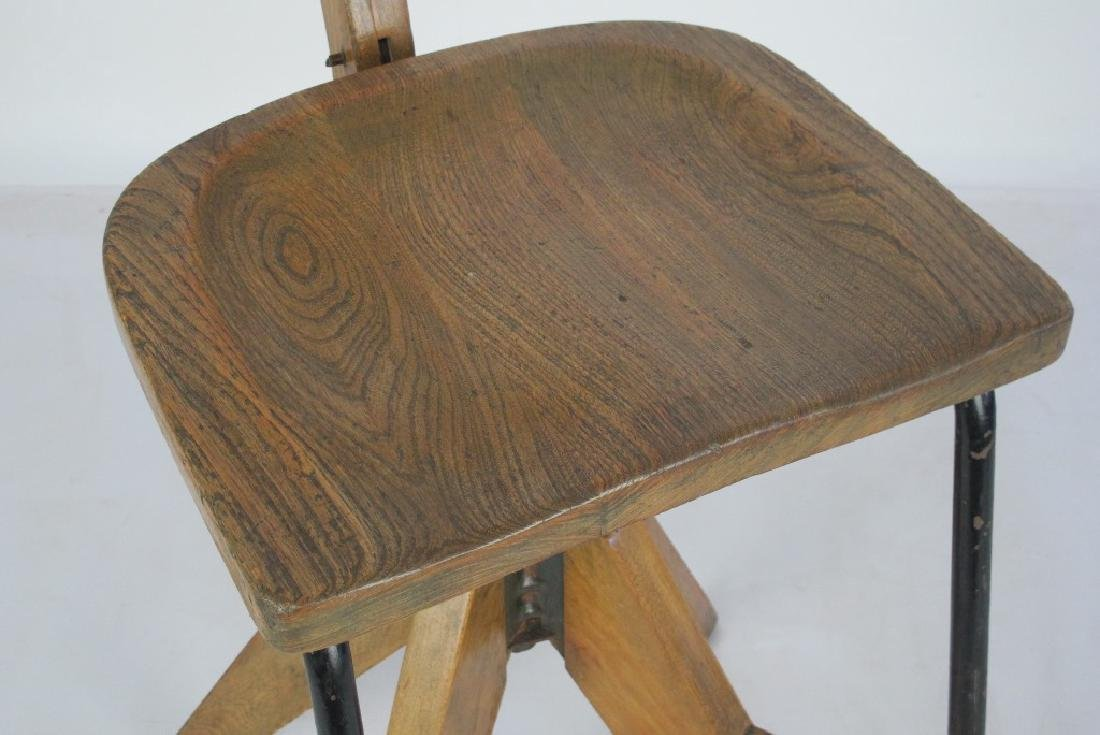 Oak Architect's Chair - 2