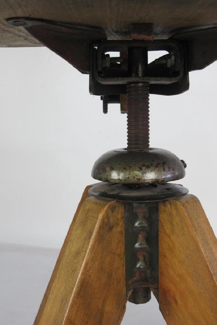 Oak Architect's Chair - 4