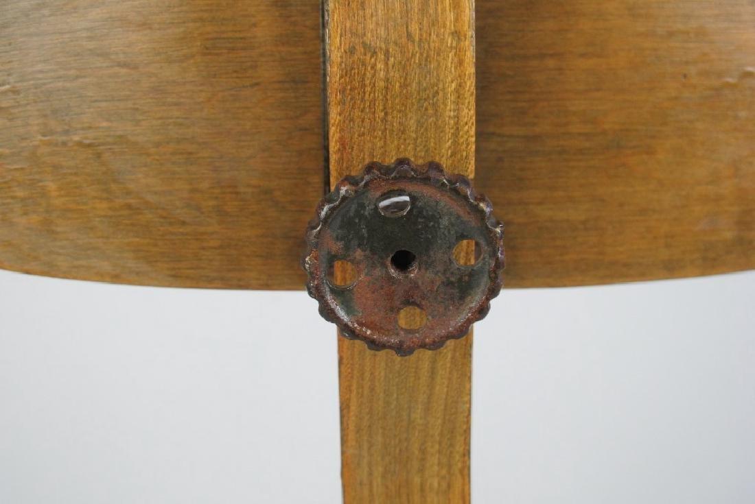 Oak Architect's Chair - 7