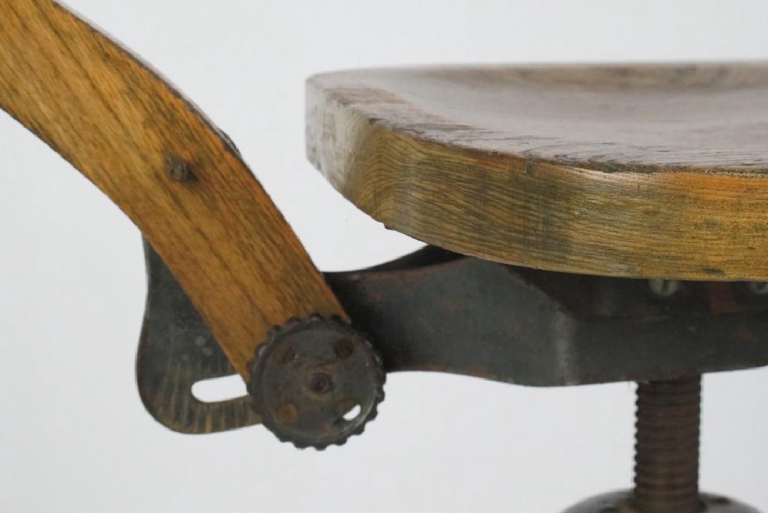 Oak Architect's Chair - 9