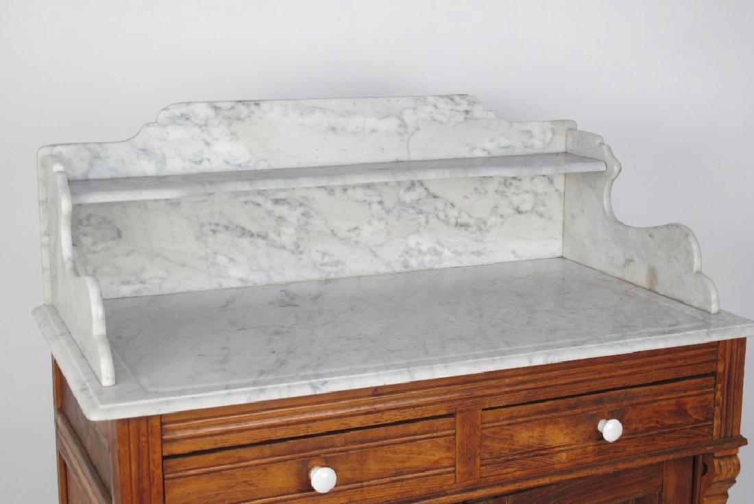 Marble Top Dresser - 2