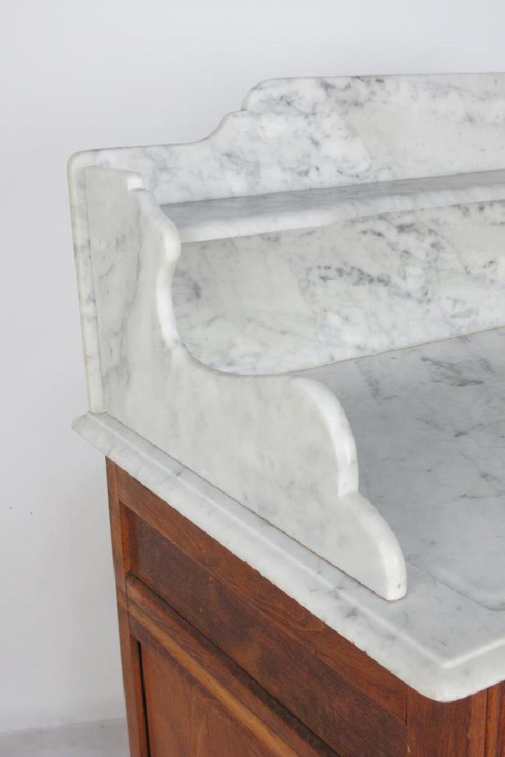 Marble Top Dresser - 5