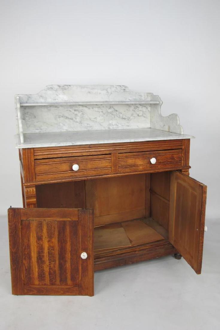 Marble Top Dresser - 6