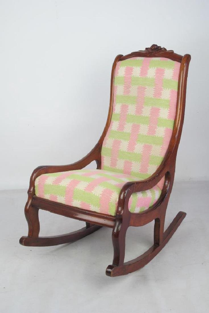 Pastel Rocking Chair