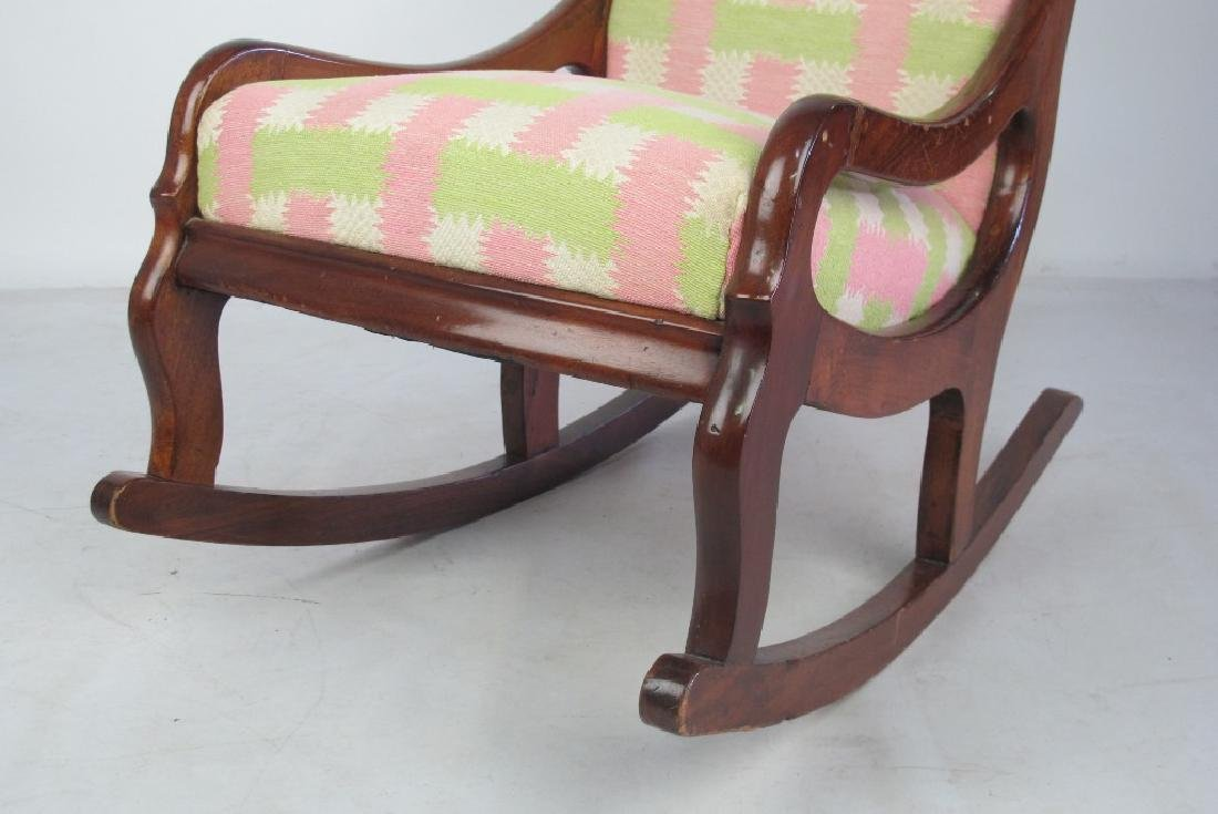 Pastel Rocking Chair - 4