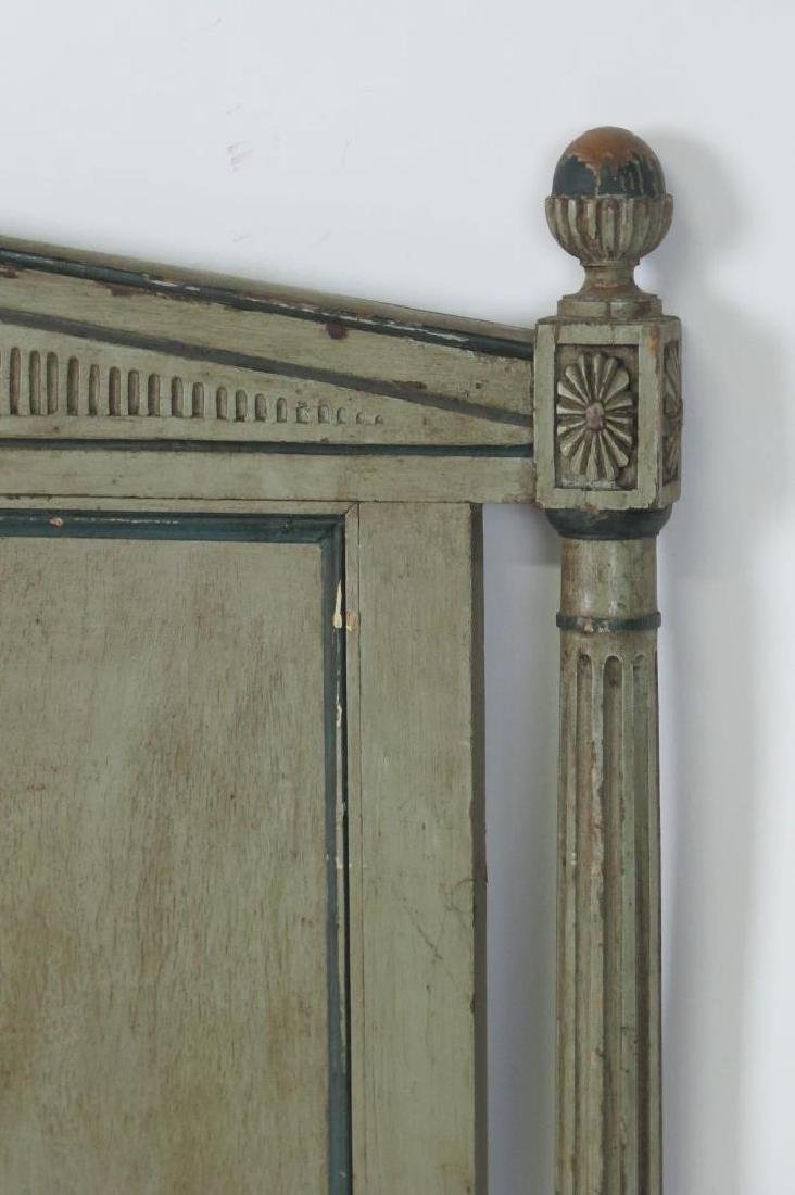 19th C. French Painted Bed - 3