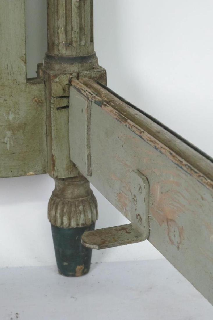 19th C. French Painted Bed - 5