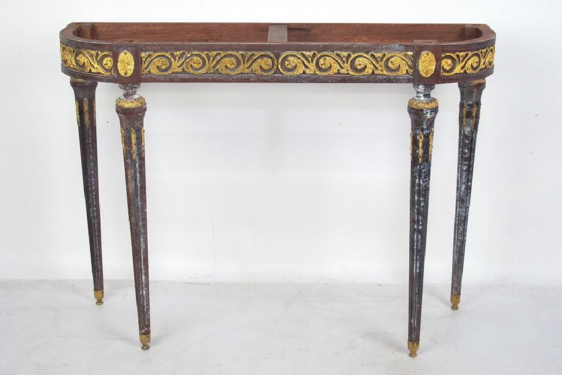 Bronze Mounted Console - No Top