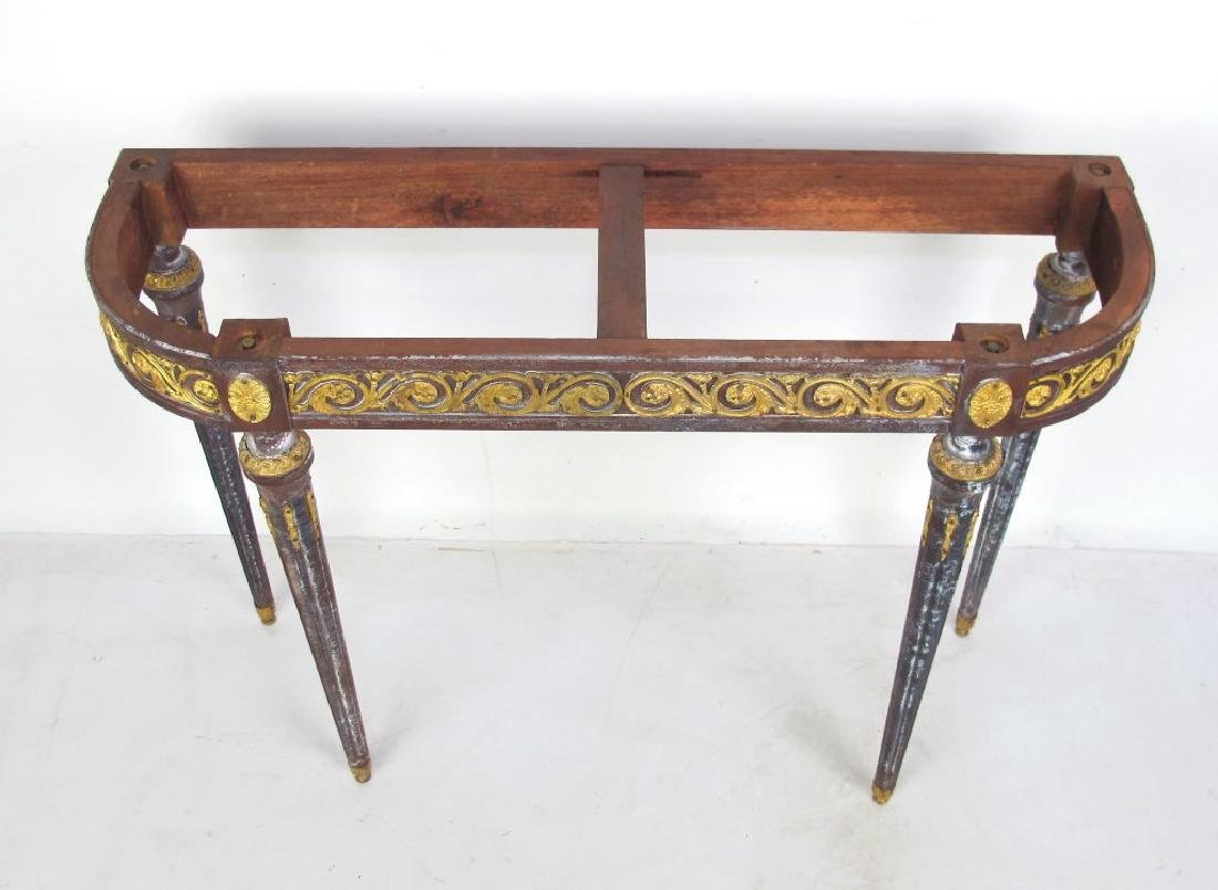 Bronze Mounted Console - No Top - 2