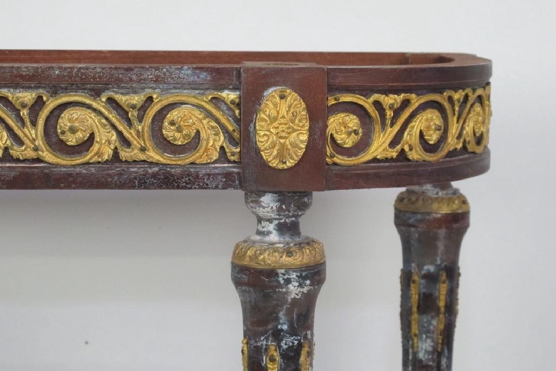 Bronze Mounted Console - No Top - 3
