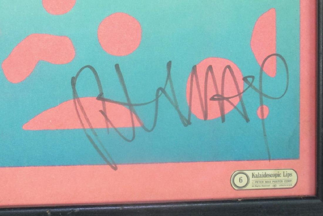 Signed Peter Max Poster - 3